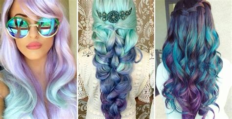 mermaid hair inspiration crown hair extensions