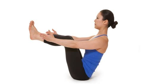 Half Boat Pose In Yoga by Yoga Half Boat Pose Fitpoint
