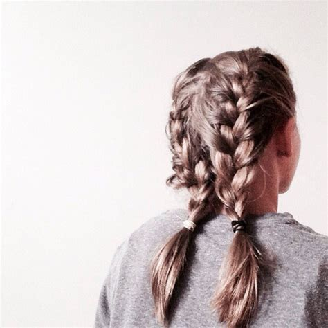 double french braids tumblr