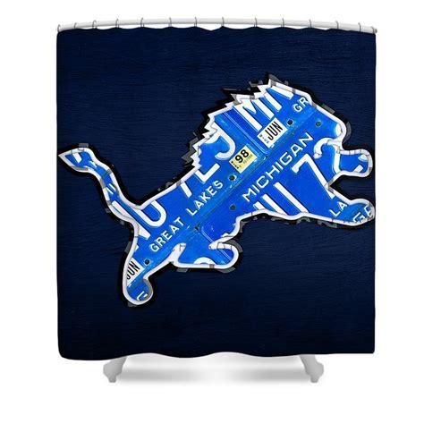 detroit lions shower curtains fine art america