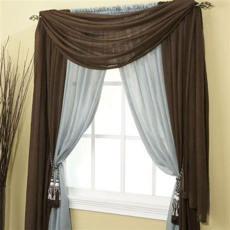 Hanging Sheer Curtains With Drapes - thinking of hanging a different style with my sheer drapes