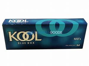 Kool Blue Menthol 100'S Box | General Goods Wholesale
