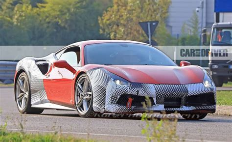2019 Ferrari 488 Gto Seen Stepping Up Its Grandeur  Cars Flow