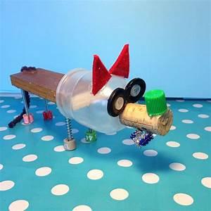 Bricolage Avec Objets De Récupération : loup fabriqu par un enfant avec des objet de r cup ration loup aaaououououh pinterest ~ Nature-et-papiers.com Idées de Décoration