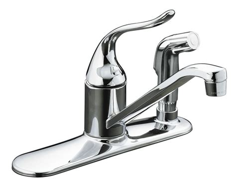 kitchen faucet discount coralais single kitchen sink faucet in polished