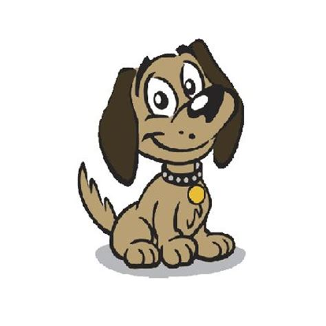 pictures  cute cartoon dogs clipart  cartoon