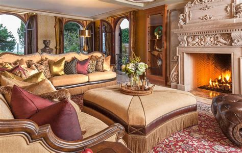 Michael Amini Living Room Homes And There Fillings