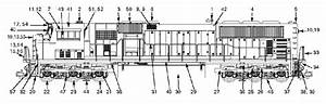 Usa Trains Sd70 Mac Locomotive Parts List