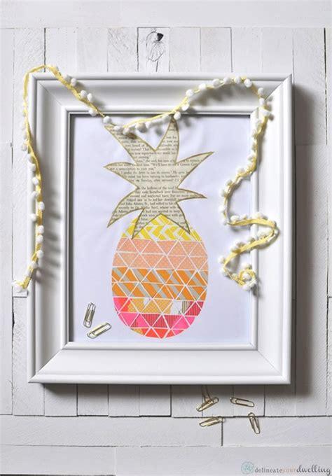 pineapple crafts  printables diy goodness
