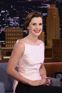 EMMA WATSON at Jimmy Fallon Show 04/27/2017 - HawtCelebs