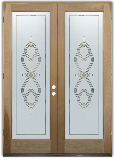 frosted glass doors entry doors sans soucie glass