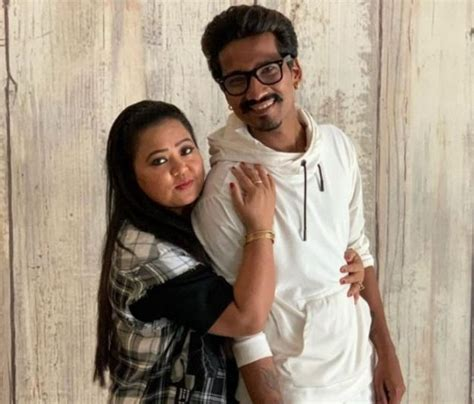Comedian Bharti Singh, husband Harsh Limbachiyaa being ...