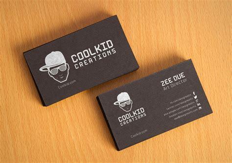 black textured business card design template mockup psd