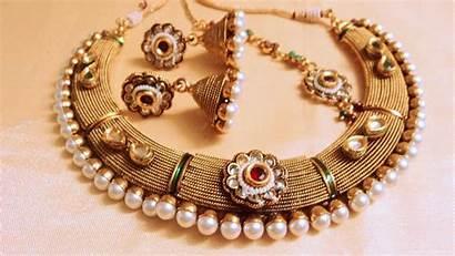Jewellery Jewelry Necklace Polki Wallpapers Kundan Elegant