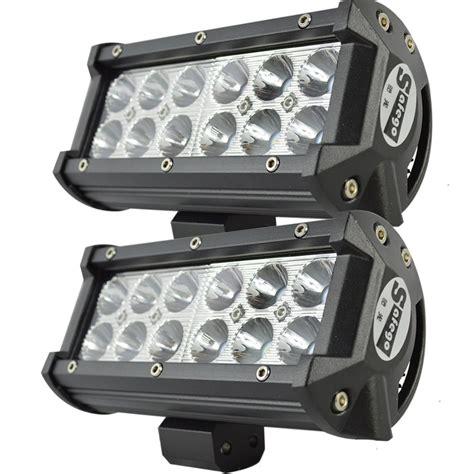 atv off road lights 2pcs 7 quot inch 36w cree led work light bar 36w off road led