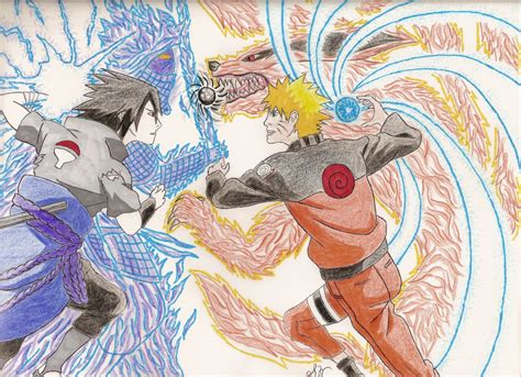 Naruto Vs Sasuke By Swu16 On Deviantart