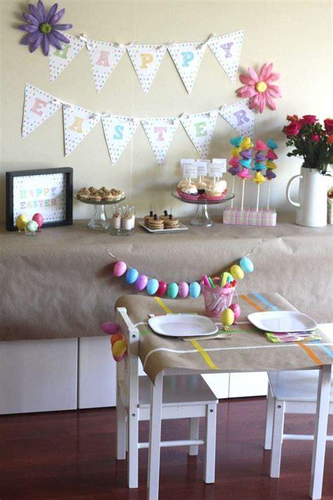 decoration de table paques  de  idees deco magnifiques