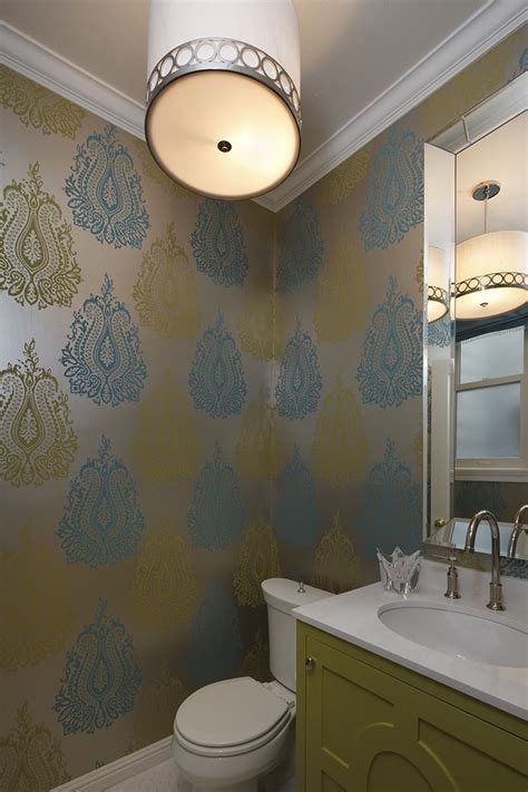 Splashy Metallic Wallpaper vogue San Francisco