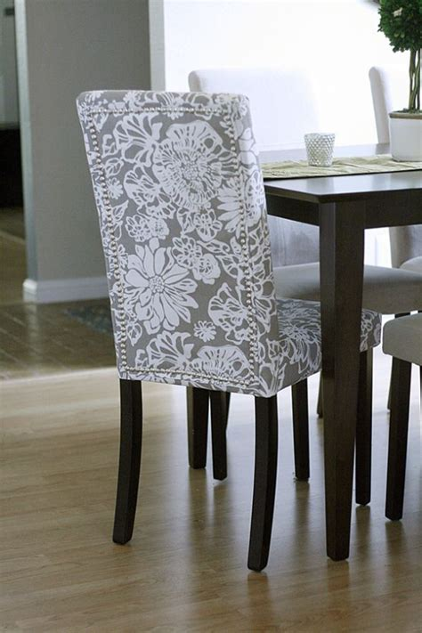 Fabric To Cover Dining Room Chairs by Would To Do This With My Black And White Fabric On