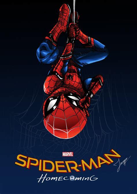 Spiderman  Homecoming Fan Art By Tontentotza On Deviantart