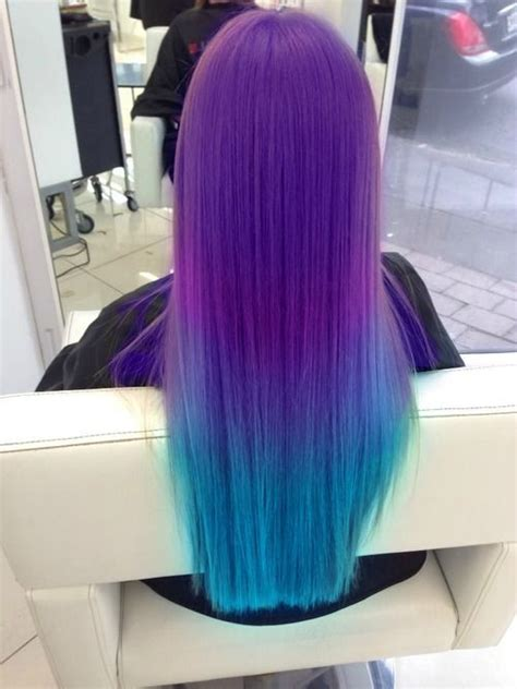 Purple And Turquoise Hair Cool Pinterest Turquoise