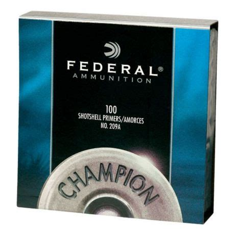 Federal Champion 209A Shotshell Primers | Cabela's Canada