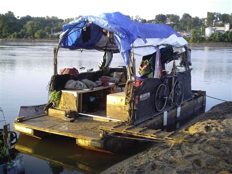 Houseboat Engine by Building Plywood Pontoons And Longtail Boat Engines Out Of