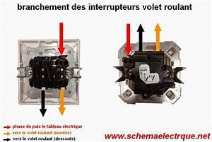 Interrupteur Volet Roulant : schema electrique branchement cablage ~ Melissatoandfro.com Idées de Décoration