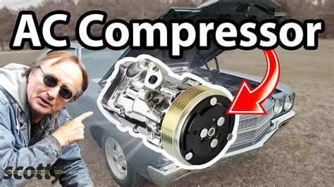 replace ac compressor   car youtube