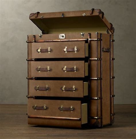 steamer trunk furniture neatorama