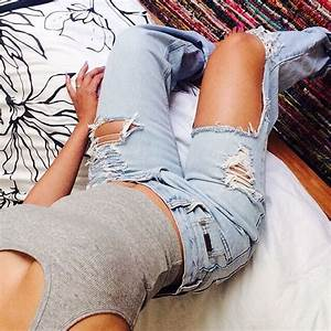Jeans ebonylace.storenvy ebonylace.storenvy ebonylace-streetfashion ripped jeans loose ...