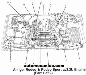 1994 Isuzu Rodeo Engine Diagram