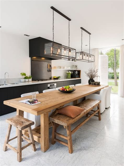 interesting ideas  decorate long  narrow kitchens