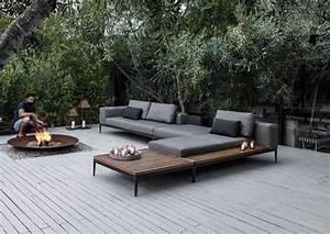 Grid Sofa Gloster – Flower Garden