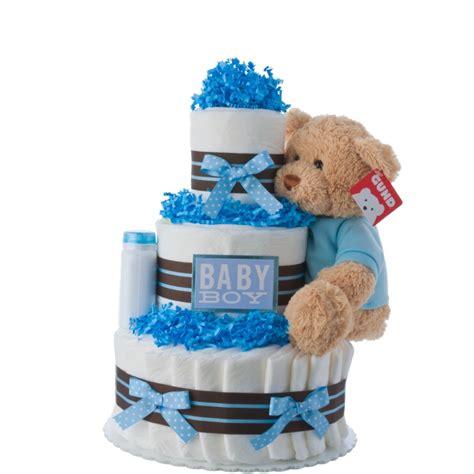 lil darling boy diaper cake