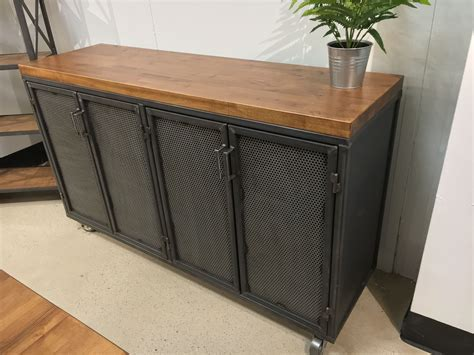 Buy a Custom Industrial Office Credenza, made to order
