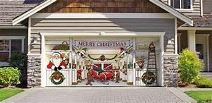 Christmas Decoration Ideas for Garage Doors Atlanta GA