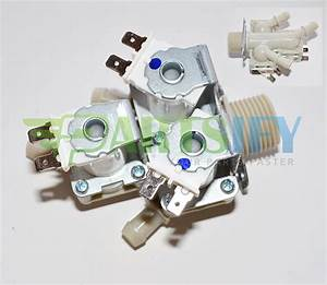 New  Washer Water Inlet Valve For Lg Model Wm2277hw Exact