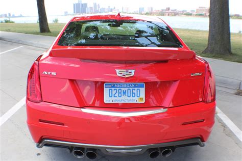 cadillac ats  exhaust start  drive  gm authority