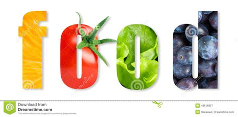 word for cuisine healthy food word stock photo image 48616857