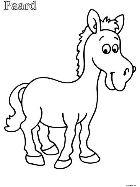 Kleurplaat We Hebben Er Een Geitje Bij by Kleurplaat Paard Zoeken We Hebben Er Een Geitje