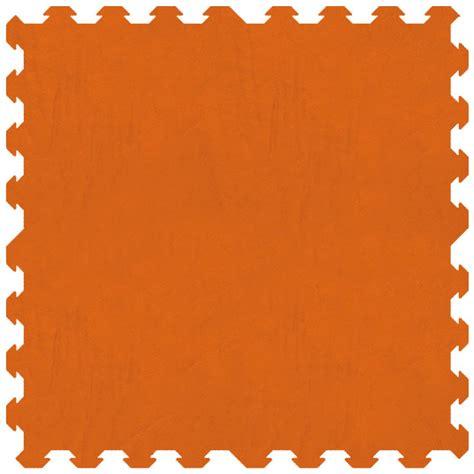tappeto puzzle gomma tappeto puzzle atossico per bambini colore arancione