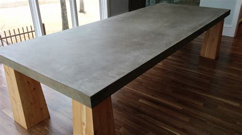 cement top dining table we 39 ve been noticing an increased demand for cement table