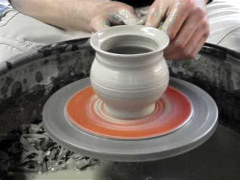 making  clay pottery honey pot mustard pot  lid