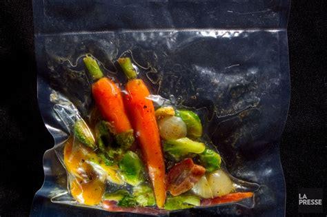 plats cuisin駸 sous vide la cuisine sous vide sort de l 39 ombre iris gagnon paradis cuisine