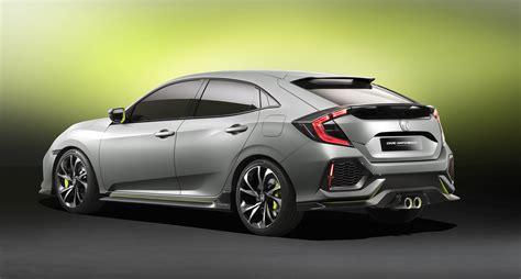 2017 Honda Civic hatch concept revealed, Australian launch ...