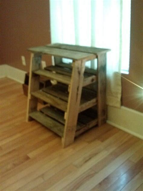 ladder shaped shoe rack   pallet wood  wood