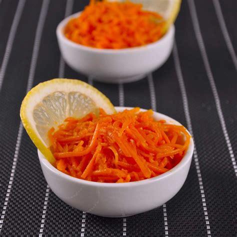 cuisiner citronnelle salade de carottes râpées au citron une recette