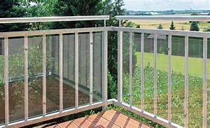 Balkon windschutz sichtschutz selbstde for Garten planen mit balkon regenschutz plexiglas