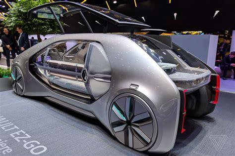 Renault's Ez-go Concept Car Is A Robot Taxi From The